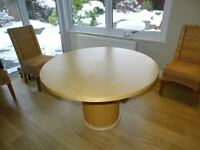 Skovby Round Dining Table