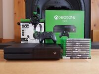 Xbox One 1TB Hard drive + 10 games + Extras