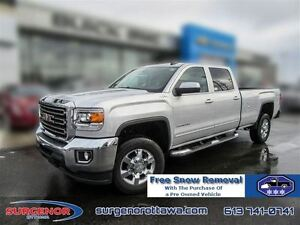 2016 GMC SIERRA 2500HD 2500 Crew 4x4 SLE / Long Box  - Certified