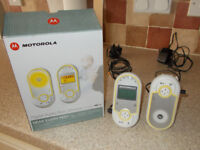 Motorola MB13 Audio Baby Monitor with Display