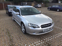2005 Subaru Legacy 4x4 AWD Sports Tourer recently serviced w/ history MOT until April 2018
