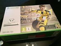 Still Sealed Xbox One s, with Fifa 17