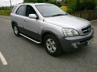 2005 KIA SORENTO CRDI XS AUTOMATIC DIESEL 4X4 WITH TOW BAR