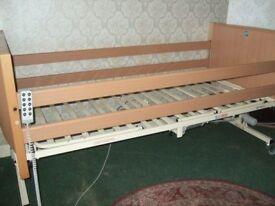 Sidhil Bradshaw Range Nursing care bed.