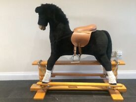 Thoroughbred rocking horse
