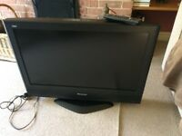 Fantastic PANASONIC 26in free view hdmi Tv Superb Sound & Picture read Advert