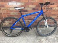 "Gents Muddy Fox Free fall mountain bike 18"" Frame 26"" Wheels - recent service - free York Delivery"