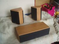 GALE SPEAKERS AND MIDDLE SPEAKER
