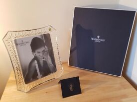 New Waterford crystal photo frame