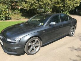 Audi A4 Black edition Quattro