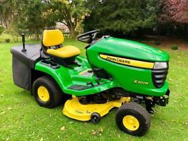 "John Deere X300R Ride on Mower - 42"" deck - Lawnmower - Only 14 Hours"