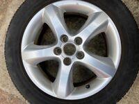 4 Tyres R15 with Alloy Rims