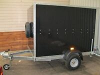 New Tickner GP75 Box Trailer 7x5x5ft