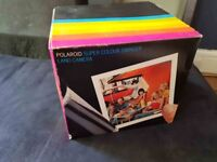 POLAROID SUPER COLOUR SWINGER VINTAGE COMPLETE IN THE BOX (NOT SURE IF IT WORKS)