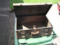 VINTAGE VERY STRONG 1950S TOOL BOX