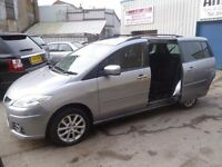 Mazda 5 Takara,1798 cc 7 seat MPV,1 previous owner,2 keys,great family car,runs and drives well