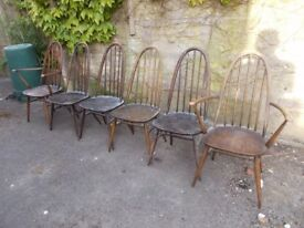 Ercol Dining Chairs Choice of 10 £20each