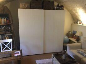 Large double Ikea wardrobe