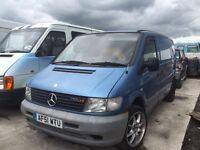 Mercedes Vito 110cdi - Spare Parts Available
