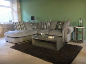 New grey corner sofa - sofology - can deliver