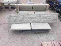 Concrete plinths / gravel boards/ kick boards