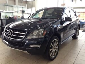 2011 Mercedes-Benz M-Class ML 350 BlueTEC *GPS, CUIR, BLUETOOTH*
