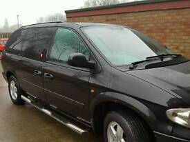 Chrysler Grand Voyager 2.8CRD 7 seater 57 reg diesel Automatic