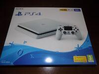 brand new white ps4 slim 500gb console