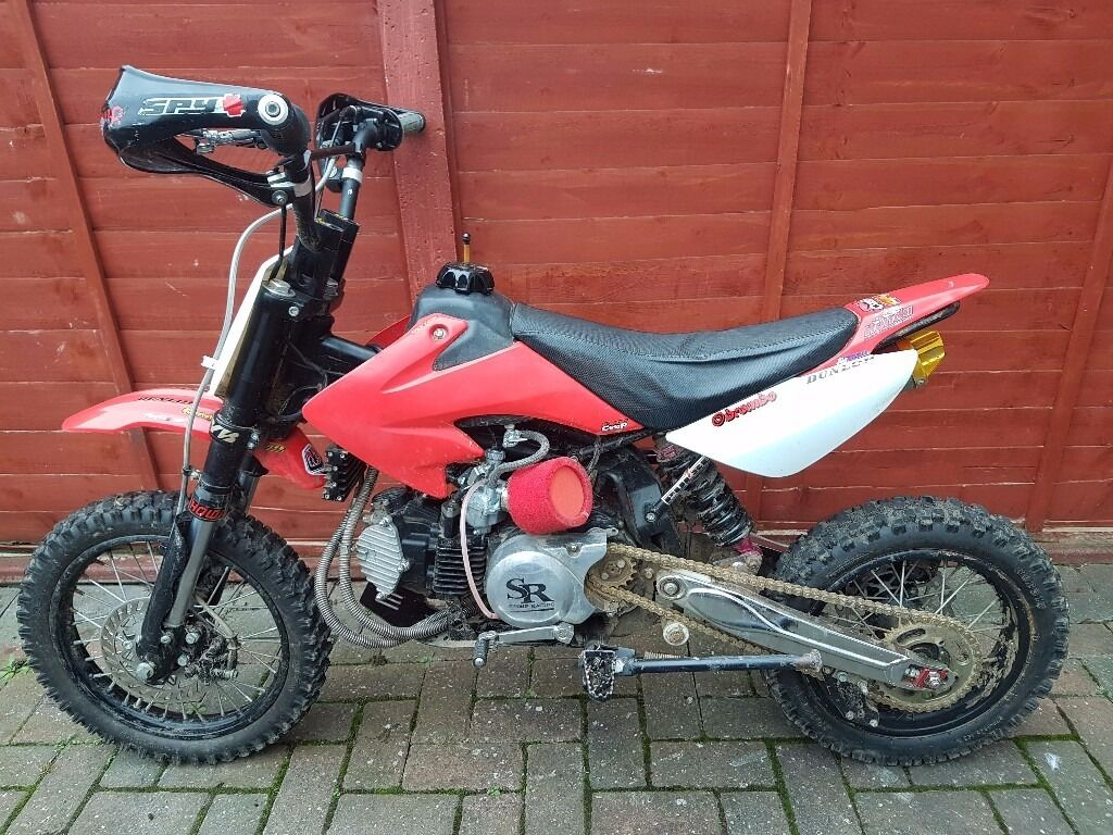 150cc stomp pit bike pitbike fastt mint dirt bike. Black Bedroom Furniture Sets. Home Design Ideas