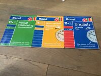 Verbal and Non Verbal exercise books 11+