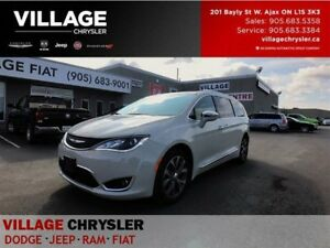 2017 Chrysler Pacifica Limited|Nav|Tech|DVDS|Leather|Tow