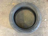 Michelin Pilot Exalto 195/45R16 tyre approx 3mm tread remaining