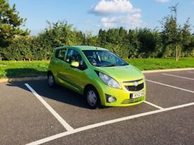 2012 CHEVROLET SPARK 1.0 5DR ONLY 17000 MILEAGE £30 ROAD TAX 1 OWNER