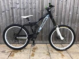 Kona stinky full suspension mountain bike will post