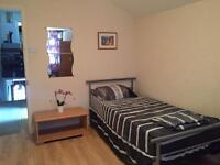 A semi double room for rent near Upton Park station