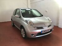 Nissan Micra 2008 1.2 16v Acenta 3d - Low Mileage, 3 Months Warranty and Full Service History