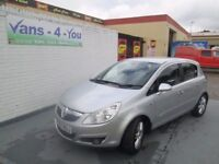 2007 vauxhall corsa 1.3 diesel £30 Tax, Finance From £118 month