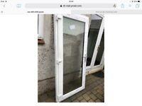 UPVC Brand New Door, never been used. Full glass.