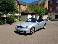 RARE (manual) Mercedes clk 220 cdi 2007 57 ** LOW MILAGE, FSH ** 51k