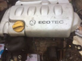 Hi I have an engine that came out of a Astra 1.8 petrol