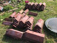 Original clay roof tiles