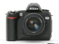 Nikon D70 Wanted