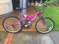 "Mountain bike 15"" frame childs"