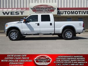2015 Ford F-250 XLT CREW 4X4, LOADED WESTERN EDITION, EXTRA CLEA