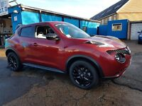 2014 nissan juke acenta red only 10,000 miles