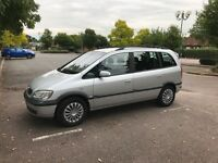 Zafira Design 1.6, 2004, £700, QUICK SALE, Excellent family car, 7 seater, 6mths MOT