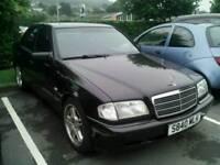 Mercedes C240 lpg converted