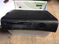 Xbox 360 with 7games. In full working order.