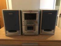 Aiwa XR-MII CD & Tape Player, Home Stereo