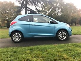 Ford KA 1.2 Zetec 3dr LONG MOT, CLEAN IN AND OUT